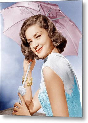 How To Marry A Millionaire, Lauren Metal Print by Everett