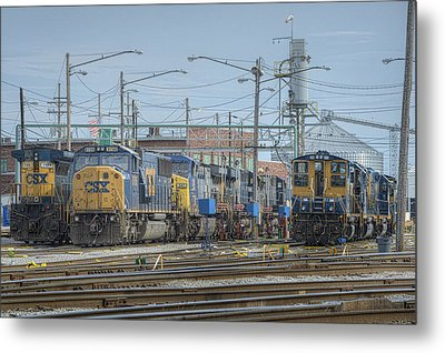 Howell Yards Evansville Indiana Metal Print by Jim Pearson