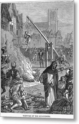 Huguenots: Persecution Metal Print by Granger