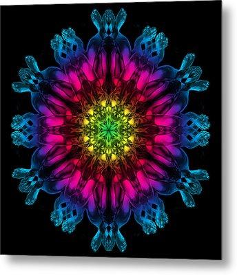 Humandala 3 Metal Print by David Kleinsasser