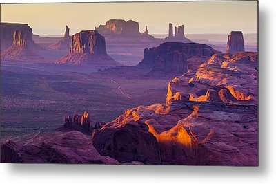 Hunt's Mesa Metal Print by Francesco Riccardo  Iacomino