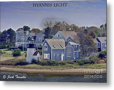 Metal Print featuring the photograph Hyannis Light by Jack Torcello