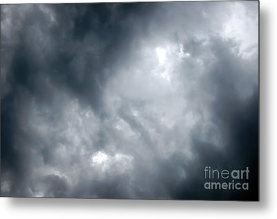 I Am No Storm Chaser Cloud Metal Print by Andee Design