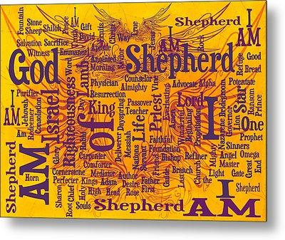 I Am Shepherd 2 Metal Print by Angelina Vick