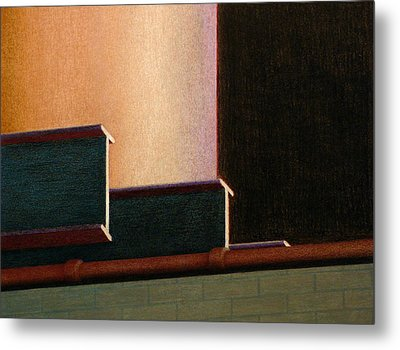 I-beam Metal Print by Norm Holmberg