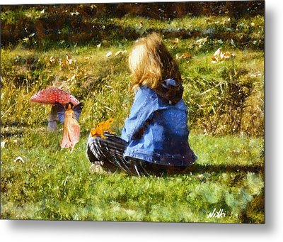 I Believe In Fairies Metal Print