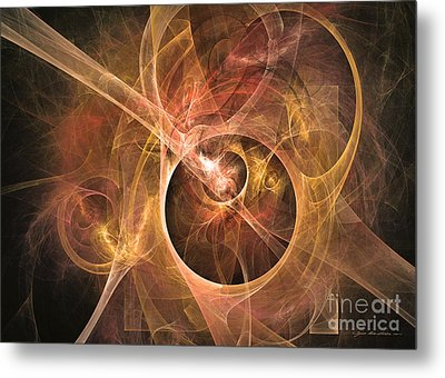 I Can Hear You - Abstract Art Metal Print