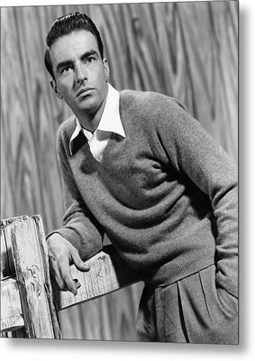 I Confess, Montgomery Clift, 1953 Metal Print by Everett