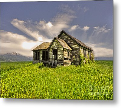 I Dont Know Idaho Metal Print by Gregory Dyer