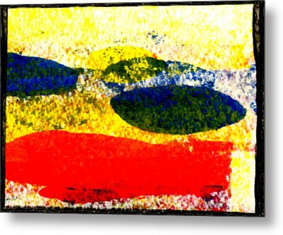 I Let Go Of The Fish Metal Print by Kimanthi Toure