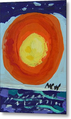 I Like A Full Sun Metal Print by Mary Carol Williams