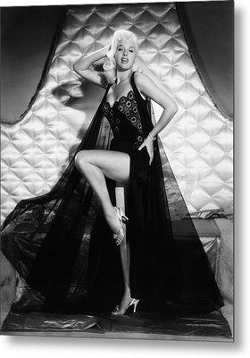 I Married A Woman, Diana Dors, 1958 Metal Print by Everett
