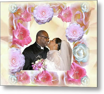 I Pronounce You Husband And Wife Metal Print by Terry Wallace