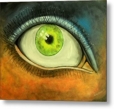 I See You Metal Print by Edwin Alverio