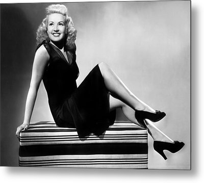 I Wake Up Screaming, Betty Grable, 1941 Metal Print by Everett