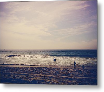 I Want To Swim In The Ocean With You Metal Print by Laurie Search