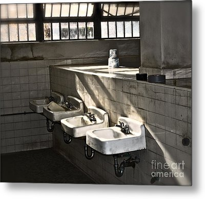 I Wash My Hands Metal Print by Gwyn Newcombe