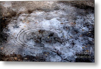 Ice Figures Metal Print by Pauli Hyvonen