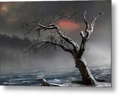 Ice Floes Metal Print by Igor Zenin