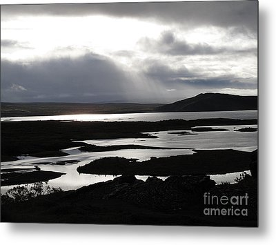 Metal Print featuring the photograph Iceland Landscape by Louise Peardon