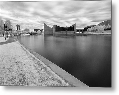 Metal Print featuring the photograph Ict Ir by Brian Duram