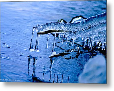 Metal Print featuring the photograph Icy Reflections by Mitch Shindelbower