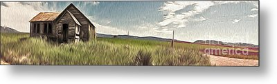 Idaho Panorama Metal Print by Gregory Dyer