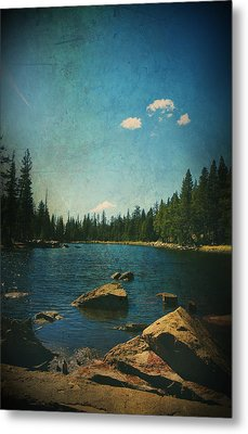 If It Could Be Just You And Me Metal Print by Laurie Search