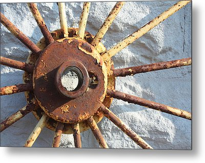 If The Sun Rusted  Metal Print