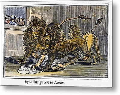 Ignatius Of Antioch (c35-110) Metal Print by Granger