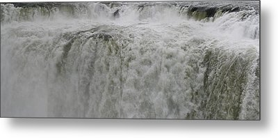 Metal Print featuring the photograph Iguazu Close Up by Andrei Fried