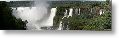 Metal Print featuring the photograph Iguazu Falls by Andrei Fried
