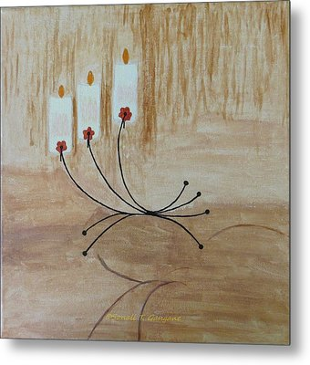 Metal Print featuring the painting Illumination by Sonali Gangane