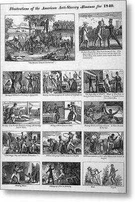 Illustrations Of The Antislavery Metal Print