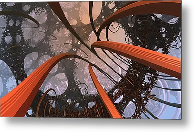 I'm More Loopy Than I Thought Metal Print by Ricky Jarnagin