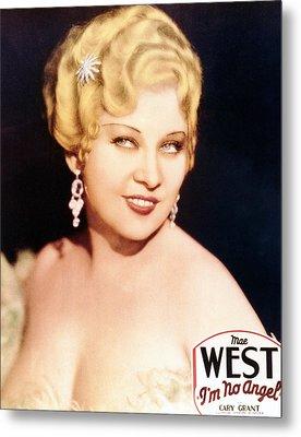 Im No Angel, Mae West, 1933 Metal Print by Everett