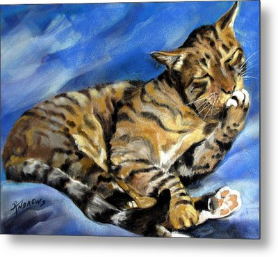 Metal Print featuring the painting Im Not Hard Of Hearing I Am Ignoring You by Rae Andrews