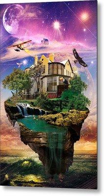 Imagination Home Metal Print by Kenal Louis