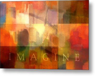 Imagine Metal Print by Lutz Baar