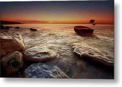 Imminent Sun Metal Print by Mark Leader