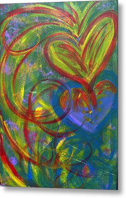 Impact Of Love Metal Print by Bethany Stanko