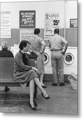 Impatient Washers Metal Print by Winfield J. Parks Jr.