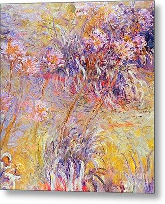 Impression - Flowers Metal Print by Claude Monet
