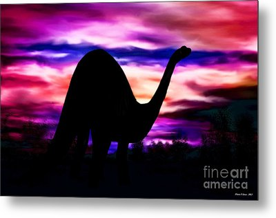 In A Land Long Ago Metal Print by Maria Urso