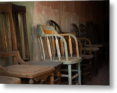 Metal Print featuring the photograph In Another Life - Another Time by Vicki Pelham