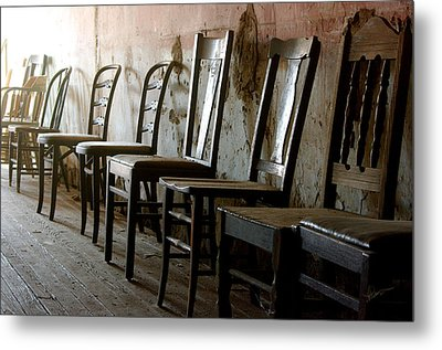 In Another Life Another Time II Metal Print by Vicki Pelham
