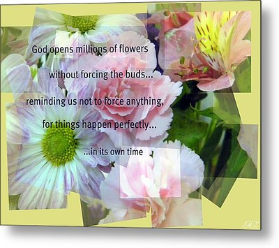 In Life's Own Time Metal Print by Michelle Frizzell-Thompson