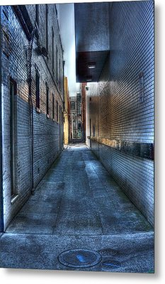 In The Alley Metal Print by Dan Stone