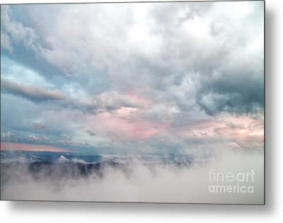 In The Clouds Metal Print by Jeannette Hunt