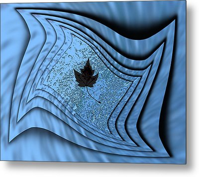 In The Eye Of The Storm 2 Metal Print by Tim Allen